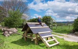 Enjoy a family break in the artistic surroundings of Nelson Barn