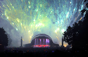 Proms at Castle Howard in North Yorkshire