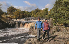 Der High Force In Teesdale