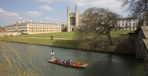 Cambridge Boating, England