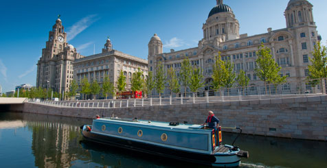Liverpool by Boat