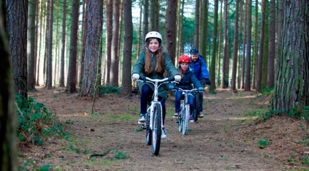 Ride and seek on a summer holiday in Nottinghamshire