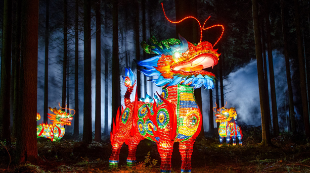 Longleat and the Festival of Light 2019