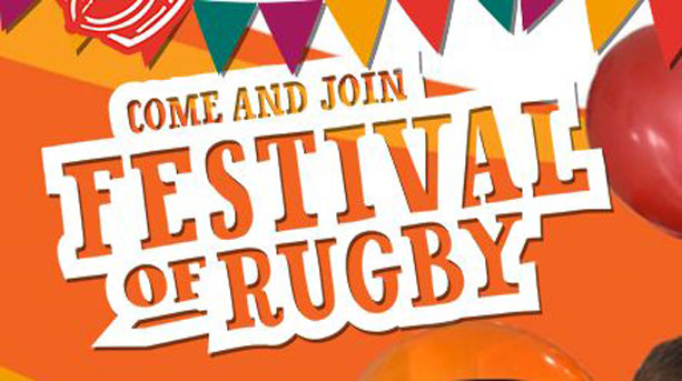 Festival of Rugby logo
