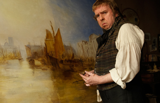 Actor Timothy Spall as Turner