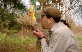 Learn survival skills in The National Forest