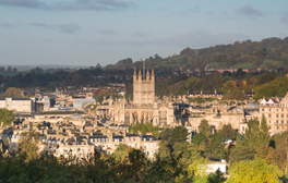 Take in breathtaking views on the Bath Skyline Walk