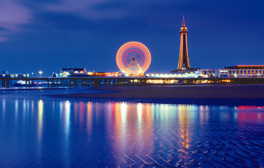 Be seduced by ritzy Blackpool and its mighty Tower