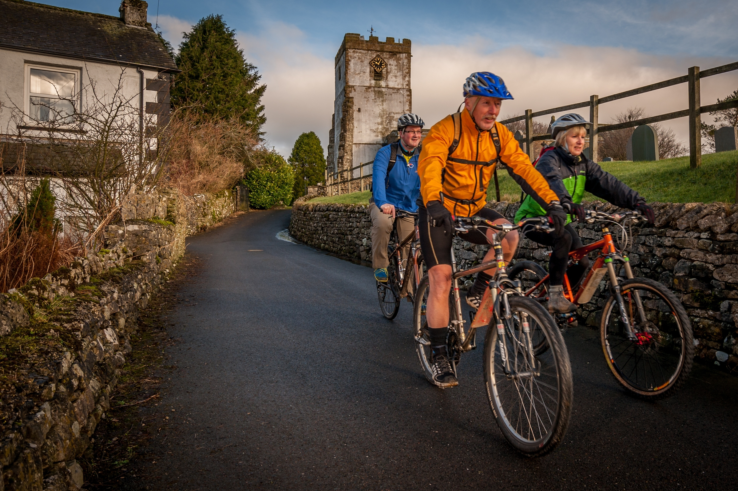 Cycle across two national parks