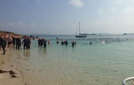 Take the Scilly Sea Swim Challenge