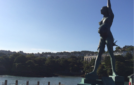 Experience world renowned art on Ilfracombe harbour