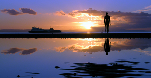 Anthony Gormley's Another Place