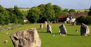 Avebury Stones, Wiltshire