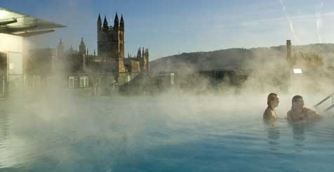 Thermae Bath Spa. Copyright VisitEngland