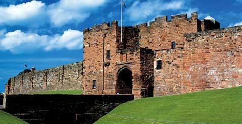 Carlisle Castle. Credit VisitEngland