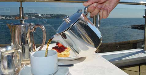 Cream Tea in Cornwall
