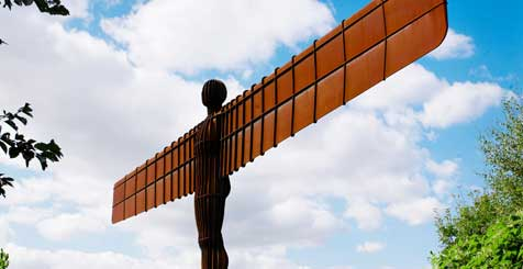 The Angel of the North. Credit NewcastleGateshead Initiative