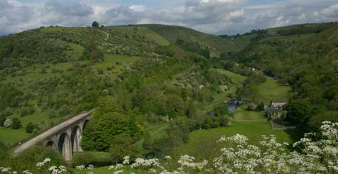 The View from Monsal Head. Credit Visit Peak District & Derbyshire