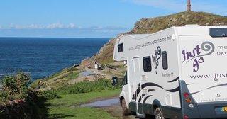 JustGo Caravan in Cornwall