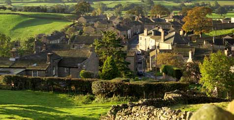 Askrigg, Yorkshire. Credit Welcome to Yorkshire