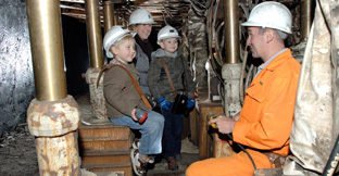 Find underground tours in England, UK