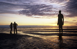 See Antony Gormley's sculptures at Crosby beach