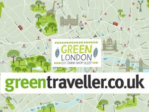 Green London Map  Your guide to sustainable hotels, restaurants, attractions and shops in London - in association with greentraveller.co.uk.