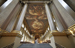 Take a trip to the impressive Old Royal Naval College