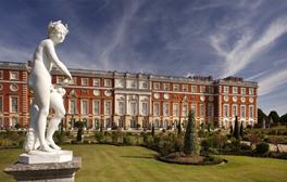 Hampton Court Palace (c)VisitEngland, Historic Royal Palaces 264x168