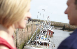 Explore the bustling harbour at Maryport