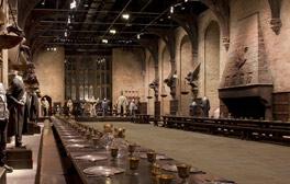 Explore Hogwarts' Great Hall at Warner Bros. Studio Tour