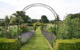 Hergest Croft Gardens, Herefordshire - Kitchen Garden July (c) VisitEngland
