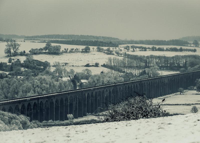 Welland Viaduct winter