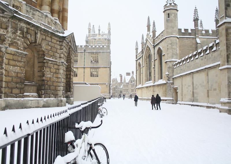 Oxford winter