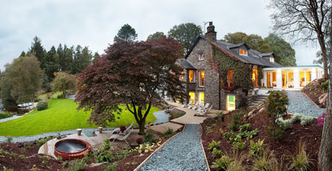 Gilpin Lake House Hotel, Cumbria