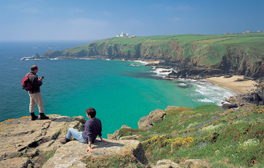 Spot dolphins on the Lizard peninsula