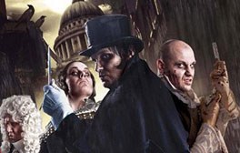 Escape the clutches of Jack the Ripper at London Dungeon
