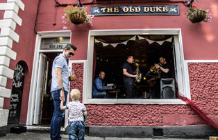 Jazz at the Old Duke in Bristol