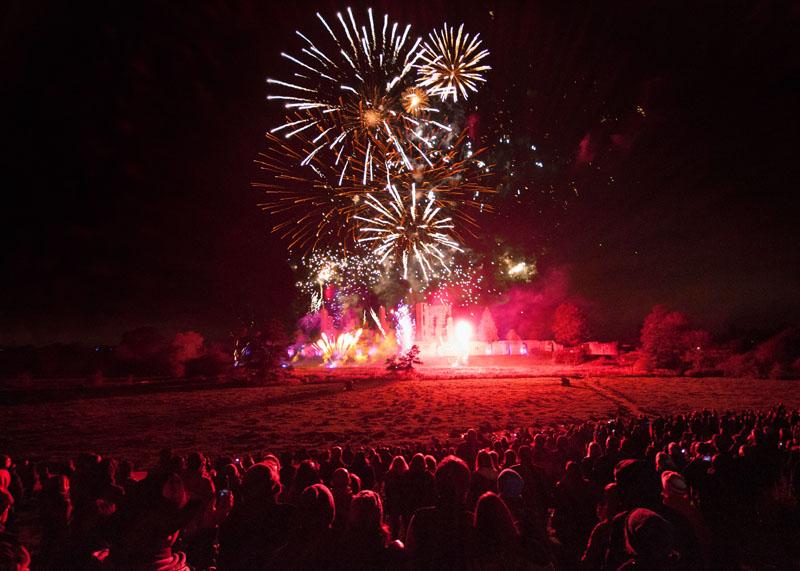 Kenilworth Castle Fireworks