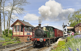 Full steam ahead on the Kent and East Sussex Railway