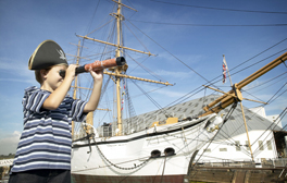 Learn the ropes at Chatham's The Historic Dockyard