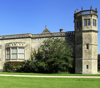 Lacock Abbey stands in for Wolf Hall in the BBC TV series