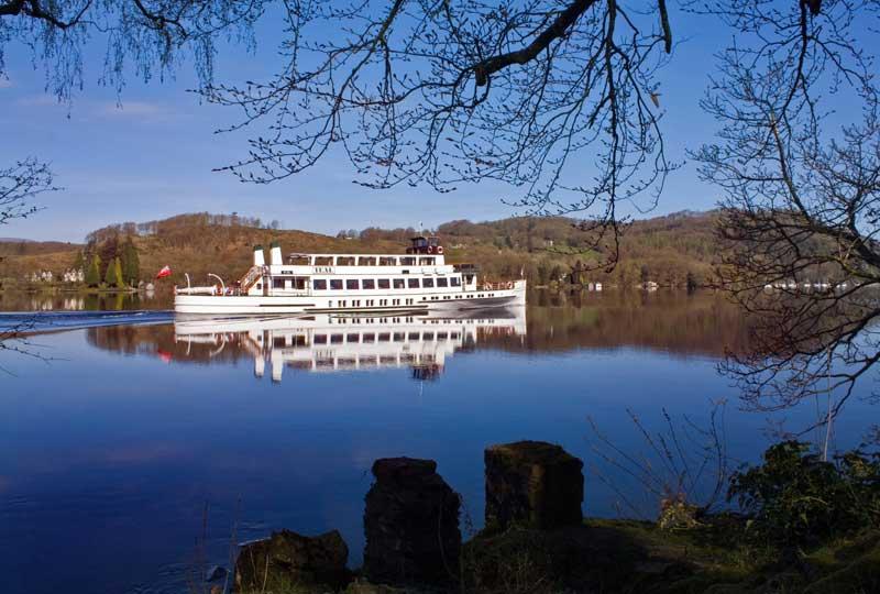 MV Teal (historic steamer) on Windemere