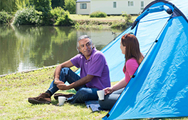 A camping getaway in the idyllic Hertfordshire countryside