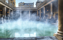 Let imaginations run riot at the Roman Baths
