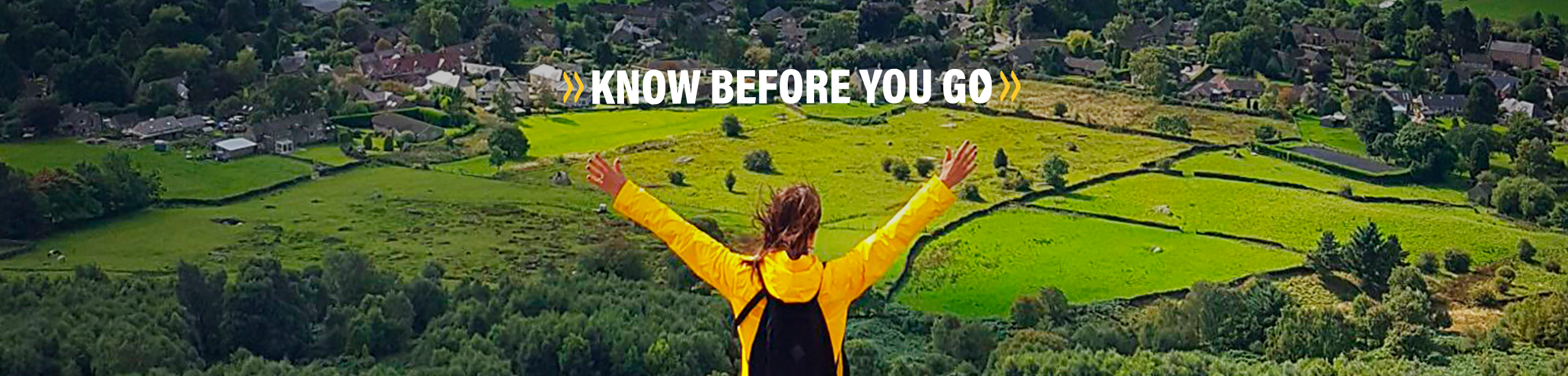 Know Before You Go campaign header
