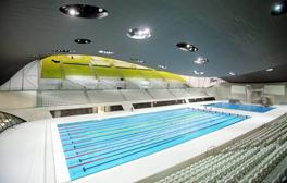 Swim like an Olympian at the London Aquatics Centre