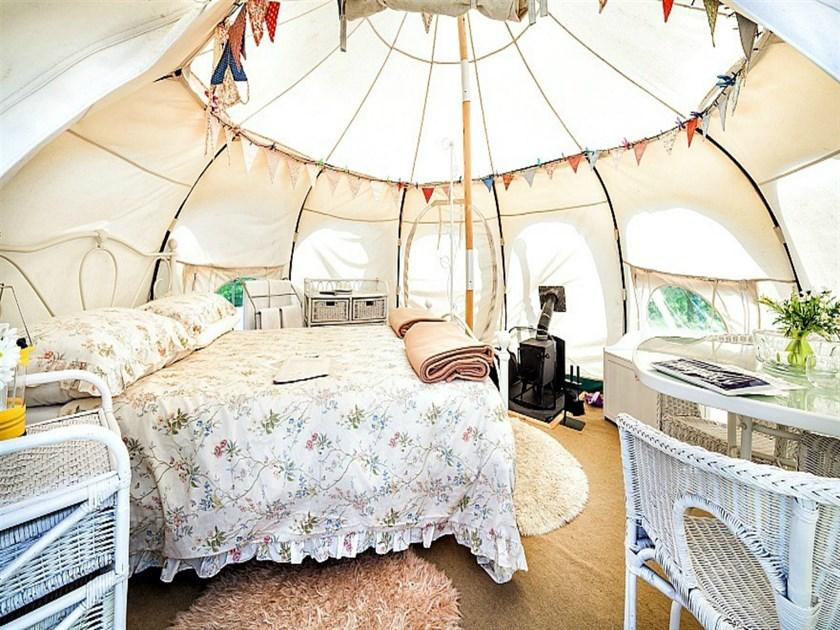 Tiny Lowrath Glamping Yurt