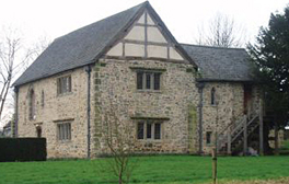 See Leicestershire's only surviving medieval manor house