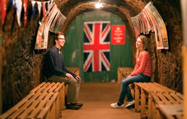 Experience the Blitz spirit at Stockport Air Raid Shelters